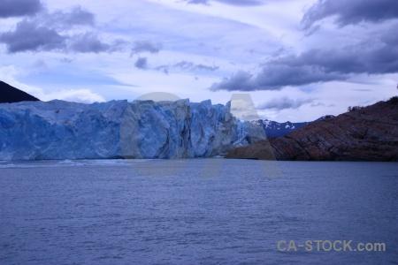 Glacier patagonia argentina cloud lago argentino.