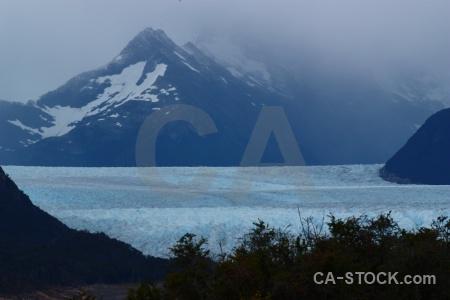 Glacier patagonia mountain sky terminus.
