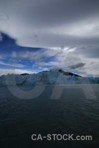 Glacier water mountain patagonia cloud.
