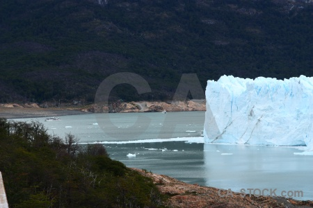 Glacier water south america ice cloud.