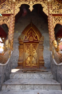 Gold asia temple chiang mai southeast.