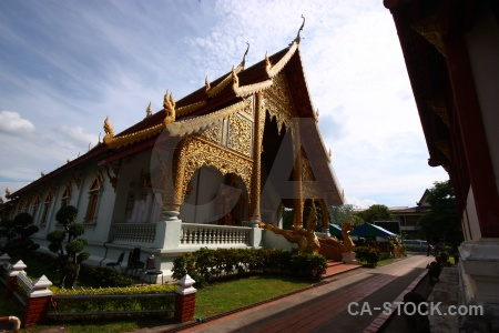 Gold buddhist asia temple southeast.