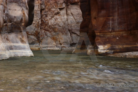 Gorge river asia jordan wadi.