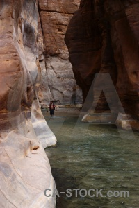 Gorge wadi person rock asia.
