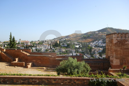 Granada alhambra europe la de granada spain.