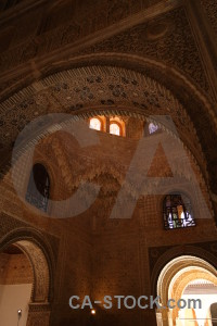 Granada building palace la alhambra de granada fortress.