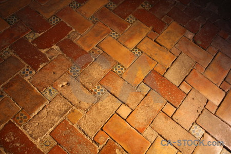 Granada floor brown orange la alhambra de granada.