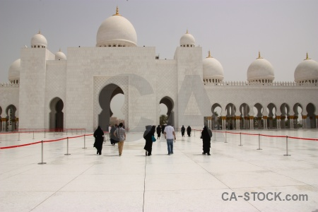 Grand sheikh zayed abu dhabi dome middle east.