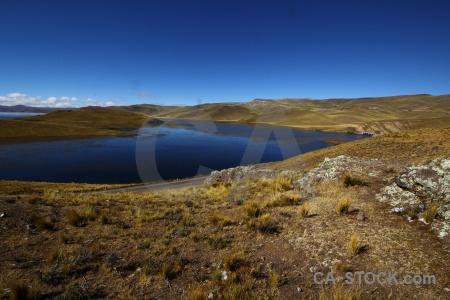 Grass altitude lake sky crucero alto.