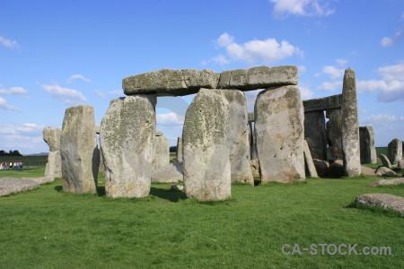Grass england rock europe blue.