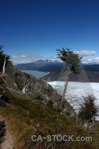 Grass patagonia ice chile mountain.