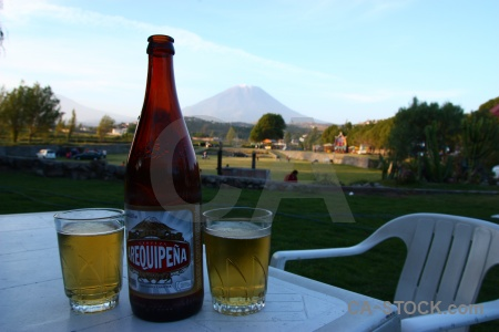 Grass stratovolcano arequipa beer cloud.