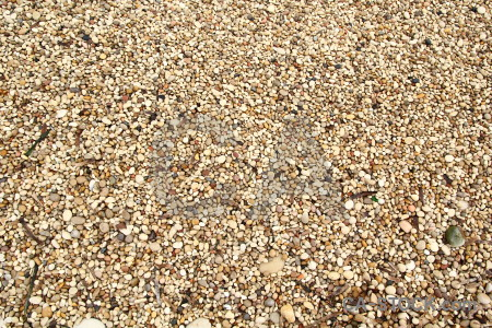 Gravel brown stone texture.
