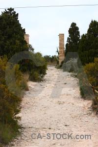 Gravel texture white stone.