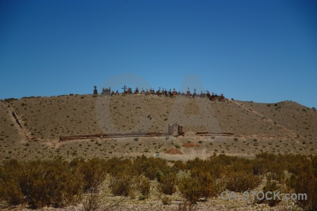 Graveyard salta tour argentina altitude mountain.