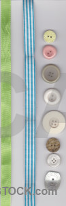 Gray cyan button object green.