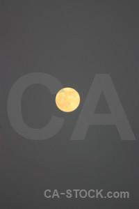Gray moon.