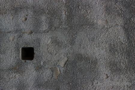 Gray plaster wall texture.