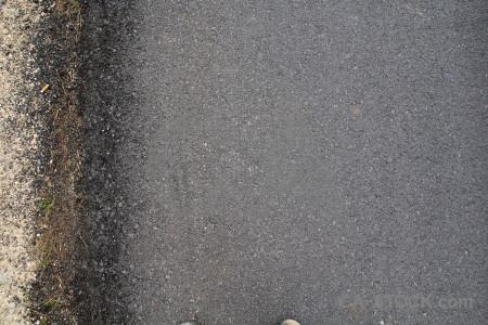 Gray road stone texture.