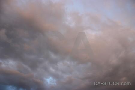 Gray sky cloud.