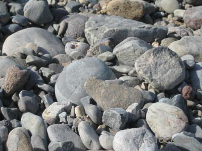 Gray stone texture gravel.