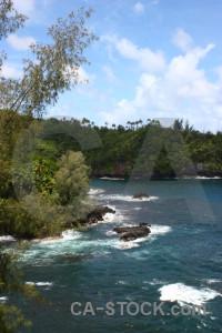 Green coast.
