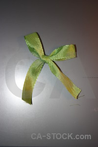 Green object ribbon gray.