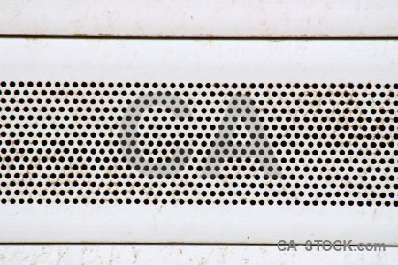 Grid grill metal white texture.