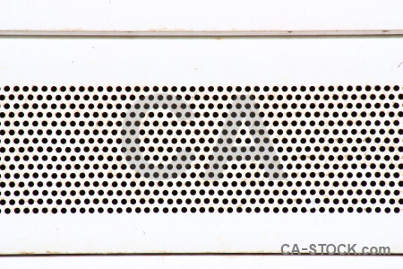 Grill grid metal texture white.