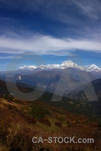 Gurja peak dhaulagiri trek nepal mountain.