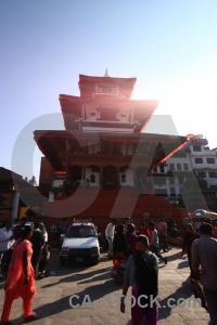 Hanuman nepal buddhist building kathmandu.