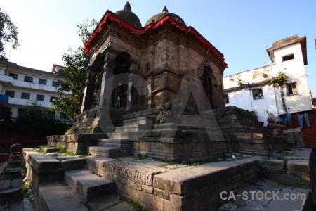 Hanuman unesco temple kathmandu wood.