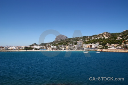 Harbour montgo spain sea javea.