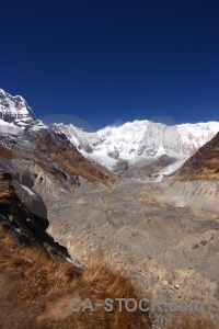 Himalayan annapurna altitude south asia snow.