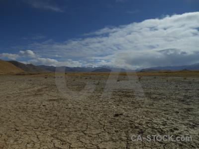 Himalayan crack tibet altitude asia.