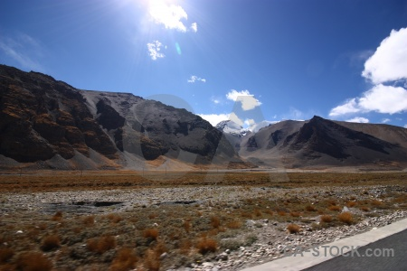 Himalayan desert east asia sky friendship highway.