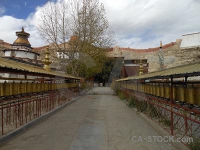Himalayan east asia pelkor chode palcho monastery sky.