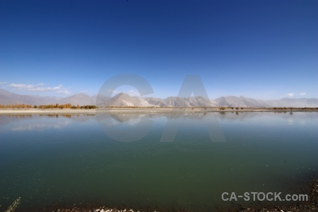 Himalayan east asia river plateau sky.