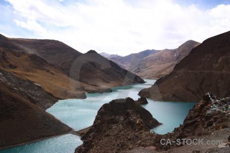 Himalayan mountain nyang chu water arid.