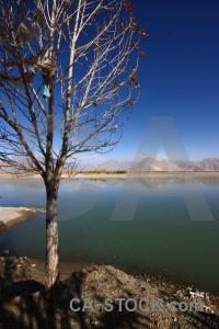 Himalayan river arid dry water.