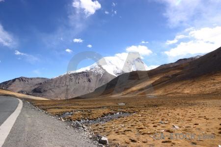 Himalayan snowcap arid asia snow.