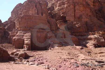 Historic middle east archaeological jordan ancient.