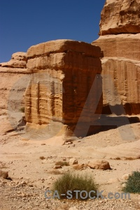 Historic nabataeans archaeological asia ancient.