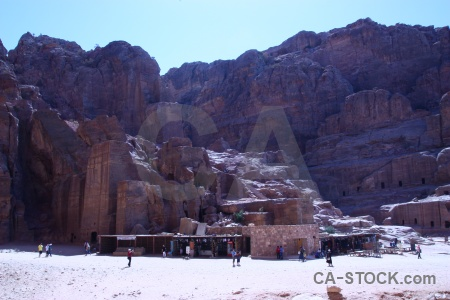 Historic petra archaeological asia unesco.