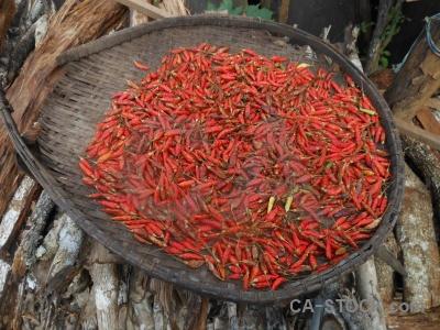 Hmong laos southeast asia phonsavan chili.