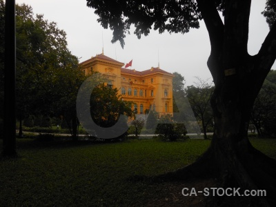Ho chi minh asia southeast palace building.