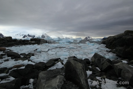 Horseshoe island antarctic peninsula snowcap marguerite bay ice.