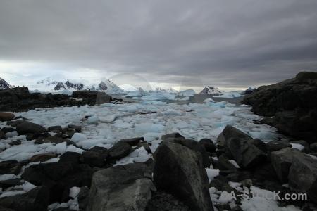 Horseshoe island antarctic peninsula snowcap marguerite bay ice.