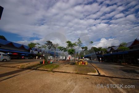 Hot spring mae chedi mai tree water southeast asia.