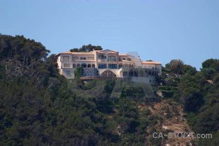 House rock cliff europe punta estrella.